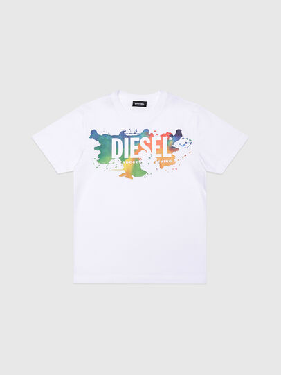 Diesel - TDOSKY, White - T-shirts and Tops - Image 1