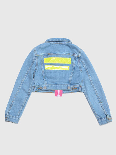 Diesel - JZAUPY, Blue Jeans - Jackets - Image 2
