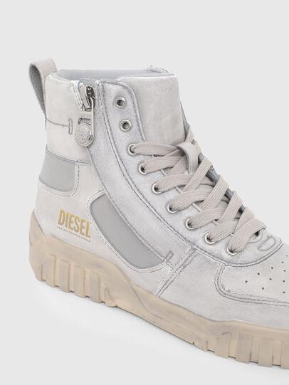 Diesel - S-RUA MID SK, White - Sneakers - Image 6