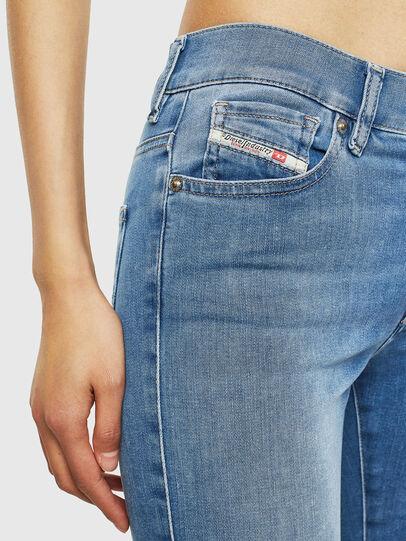 Diesel - D-Roisin 0094X, Light Blue - Jeans - Image 4