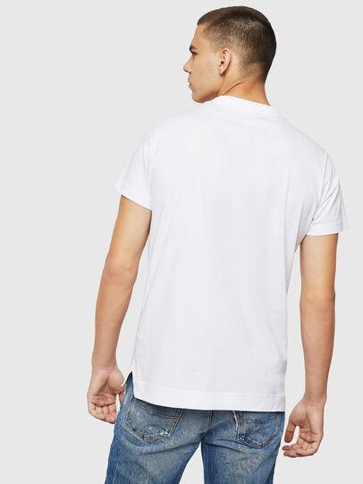 Diesel - T-LAZAREV, White - T-Shirts - Image 2