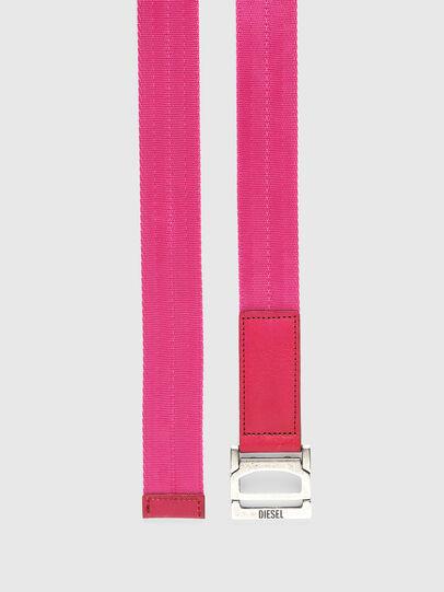 Diesel - B-WEBI, Pink - Belts - Image 3
