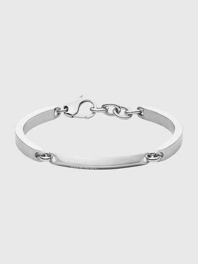 Diesel - DX1172, Silver - Bracelets - Image 1