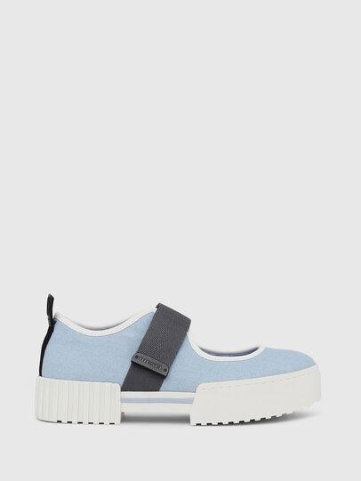 Diesel - H-MERLEY B, Azure - Sneakers - Image 1