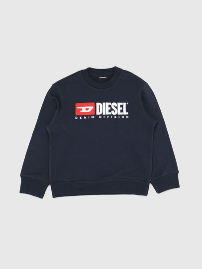 Diesel - SCREWDIVISION OVER, Navy Blue - Sweaters - Image 1