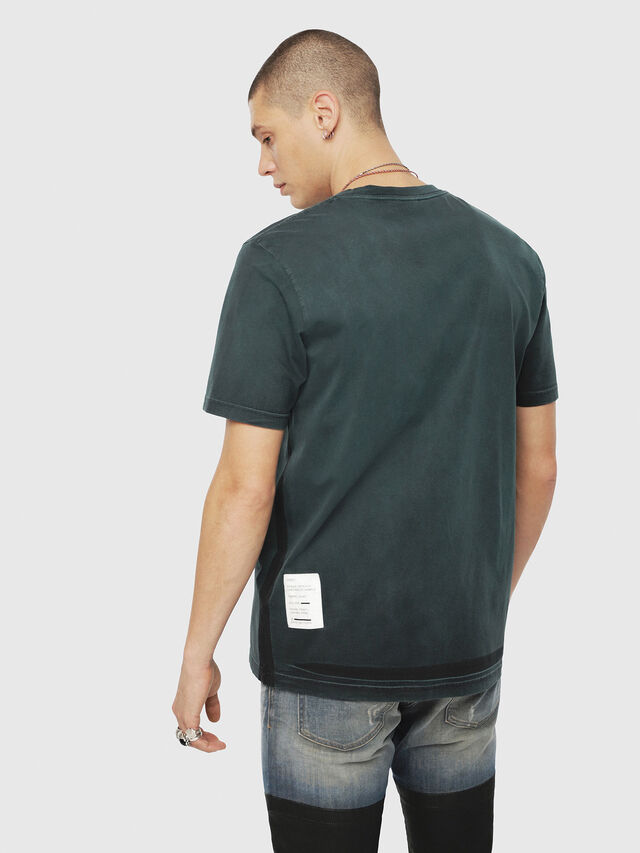 Diesel - T-JUST-YS, Dark Green - T-Shirts - Image 2