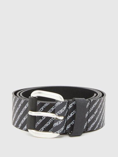 Diesel - B-COPIRY, Black - Belts - Image 1