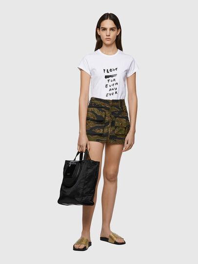 Diesel - O-IRAIDA-CMF, Military Green - Skirts - Image 5