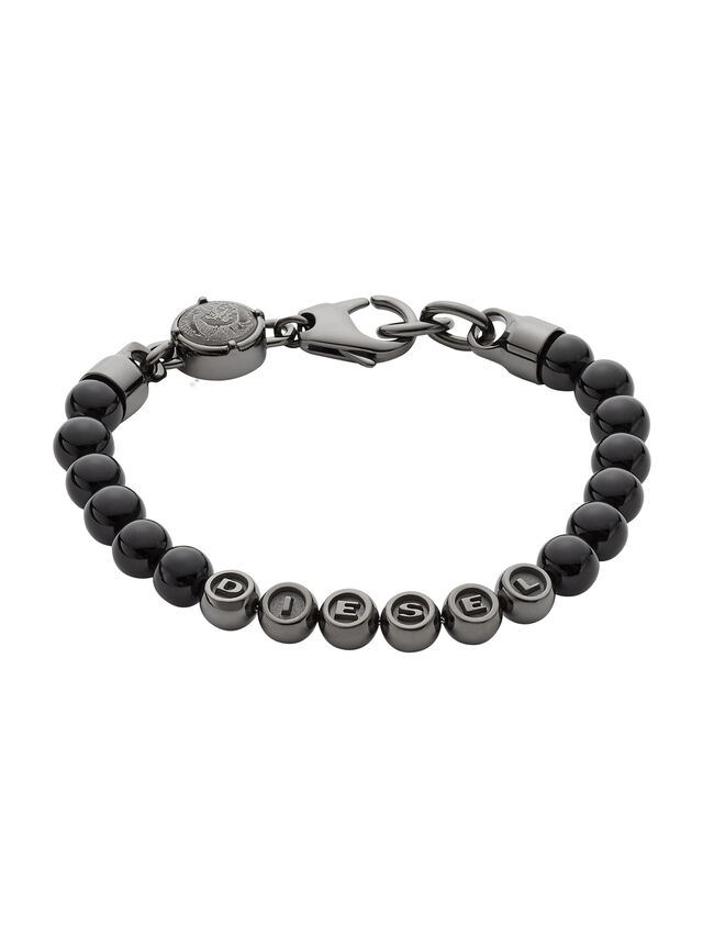 Diesel - BRACELET DX0950, Black - Bracelets - Image 1
