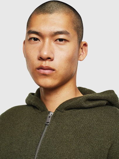 Diesel - K-NAVY, Military Green - Knitwear - Image 5