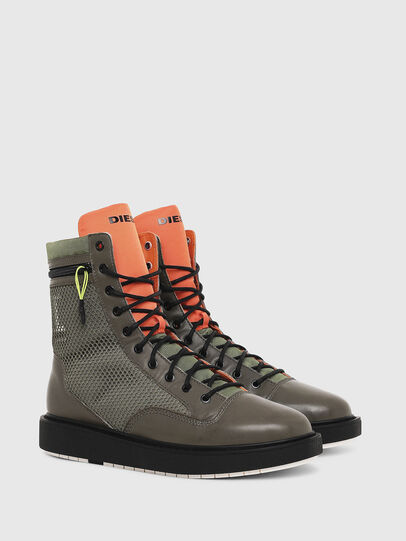 Diesel - H-CAGE DBZ, Olive Green - Boots - Image 2