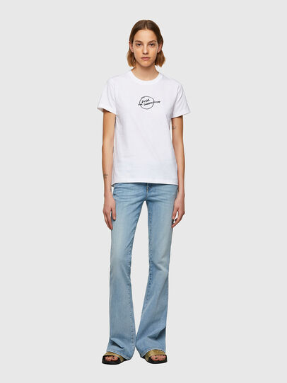 Diesel - T-SILY-B8, White - T-Shirts - Image 4