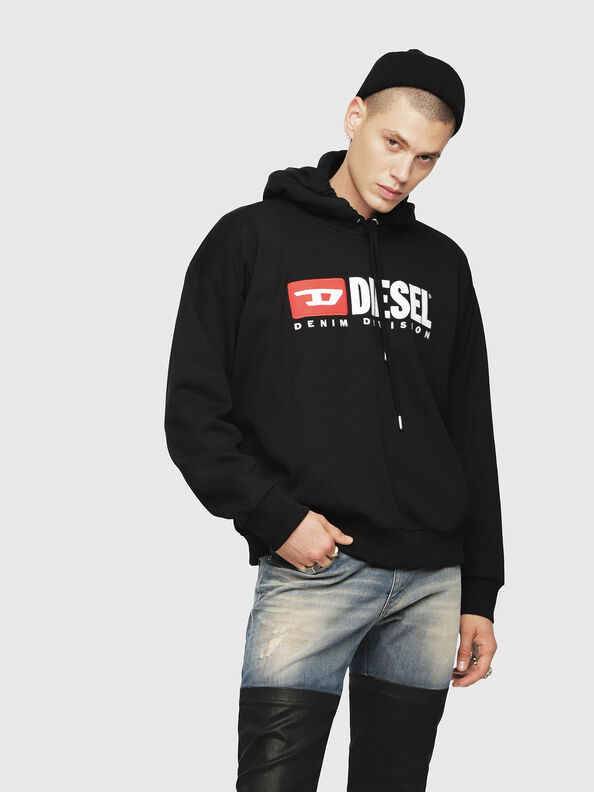 S-DIVISION, Black - Sweaters