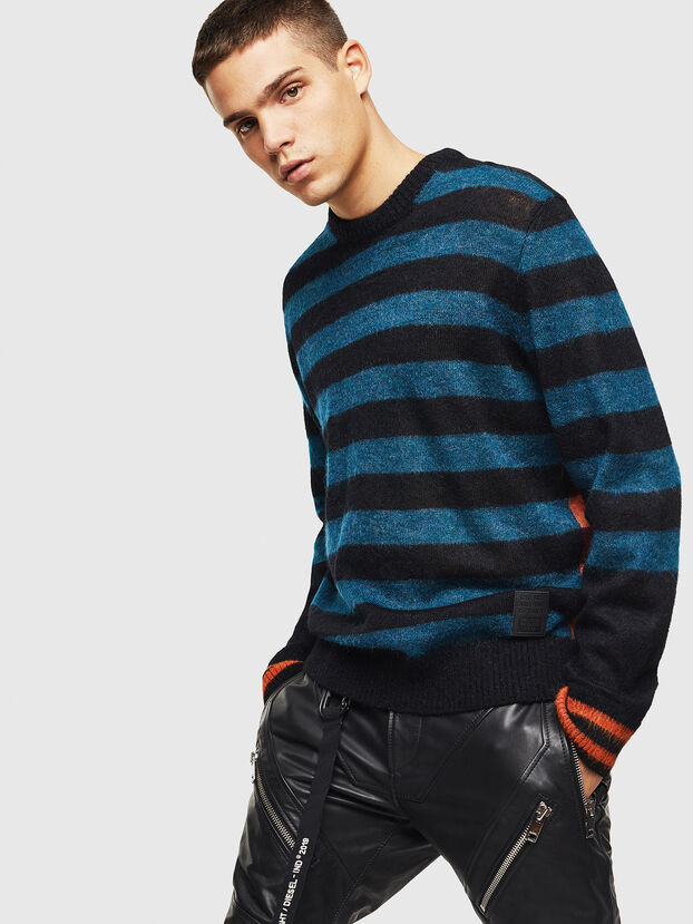 K-BOH, Blue/Orange - Knitwear