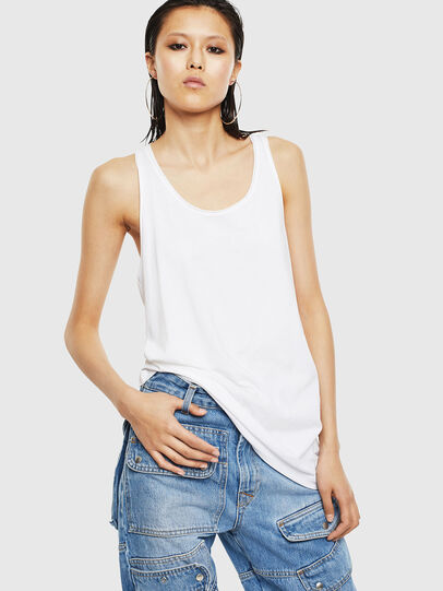 Diesel - T-KELLY-B, White - Tops - Image 1