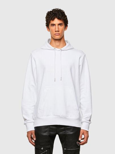 Diesel - S-GIRPO-HOOD, White - Sweaters - Image 1
