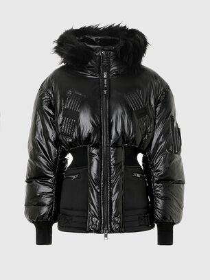 W-ISOKE-SHINY, Black - Winter Jackets