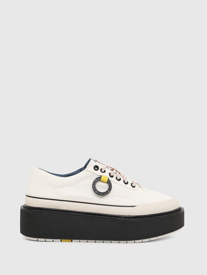 Diesel - H-SCIROCCO LOW, White/Pink - Sneakers - Image 1