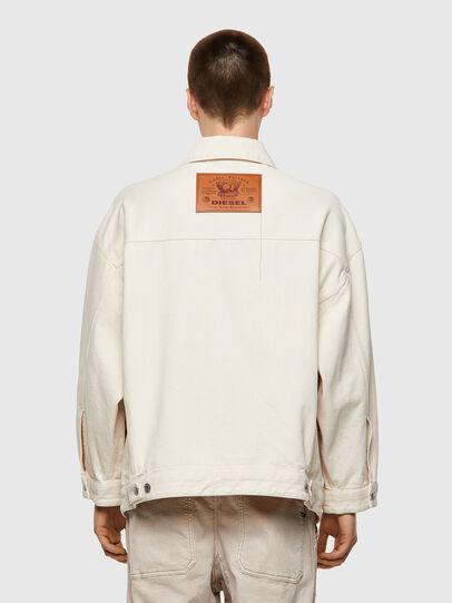Diesel - DE-SOJO, White - Denim Jackets - Image 2