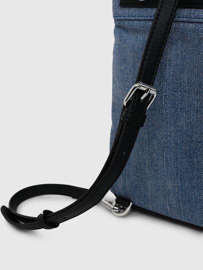 Diesel - ERACLEA II, Blue Jeans - Backpacks - Image 5