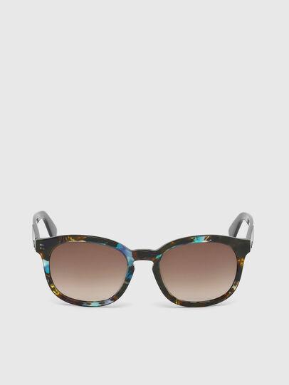 Diesel - DM0190, Blue/Black - Sunglasses - Image 1