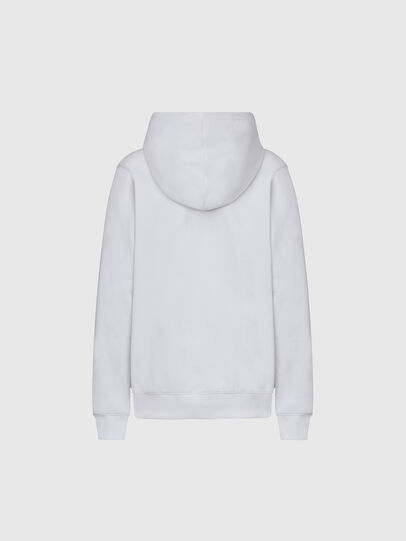 Diesel - F-ANG-HOOD-K21, White - Sweaters - Image 2