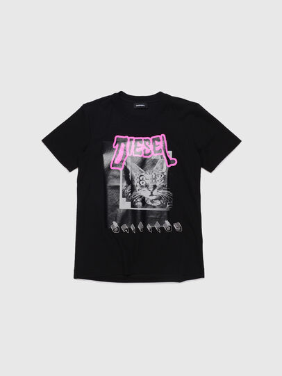 Diesel - TSILYYC, Black - T-shirts and Tops - Image 1