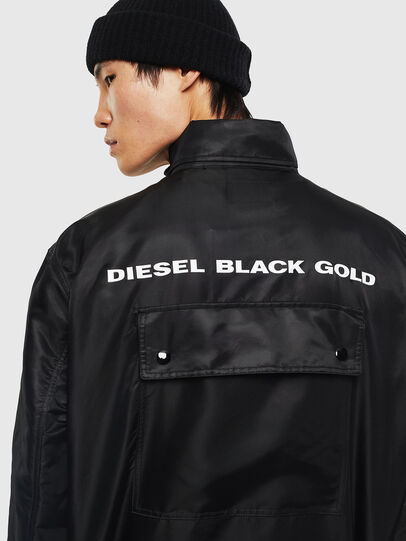 Diesel - J-R-LONG, Black - Jackets - Image 4