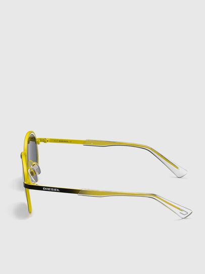 Diesel - DL0321, Black/Yellow - Sunglasses - Image 3