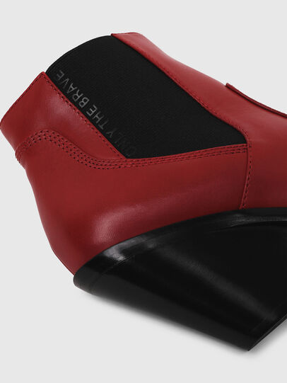 Diesel - D-FLAMINGO CB, Red - Ankle Boots - Image 4