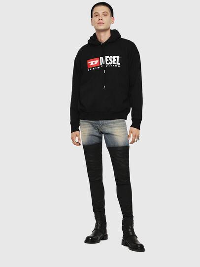 Diesel - S-DIVISION, Black - Sweaters - Image 4