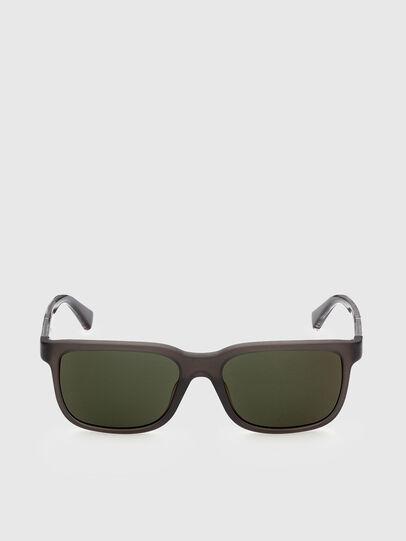 Diesel - DL0341, Dark Brown - Sunglasses - Image 1