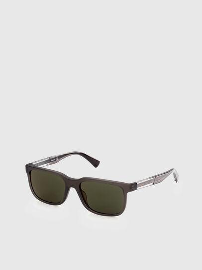 Diesel - DL0341, Dark Brown - Sunglasses - Image 2