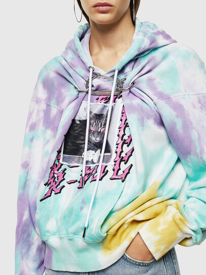 Diesel - F-ALBYHOOK-B, Multicolor - Sweaters - Image 3