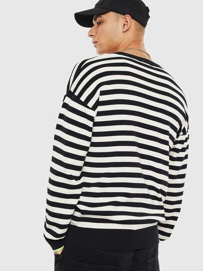 Diesel - K-SLASSH, Black/White - Knitwear - Image 2