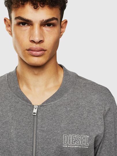 Diesel - UMLT-JUSTIN-Z, Grey - T-Shirts - Image 3