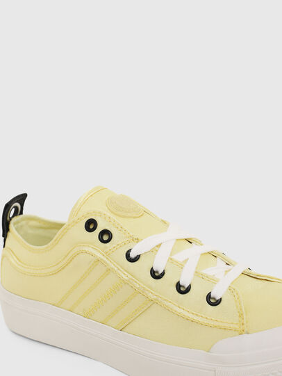 Diesel - S-ASTICO LOW LACE W, Yellow - Sneakers - Image 4