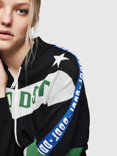 Diesel - M-WAINE, Black - Knitwear - Image 5