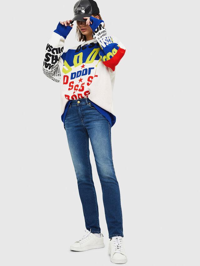 Diesel - Sandy 086AL, Dark Blue - Jeans - Image 4