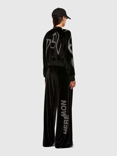 Diesel - F-CHINIL, Black - Sweaters - Image 7