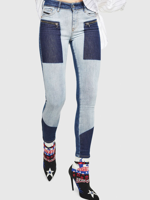 Slandy Zip 0890L,  - Jeans