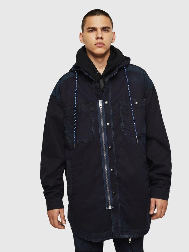 D-SIMILAR JOGGJEANS, Dark Blue - Denim Jackets