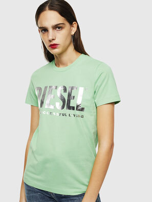 T-SILY-WX, Green - T-Shirts