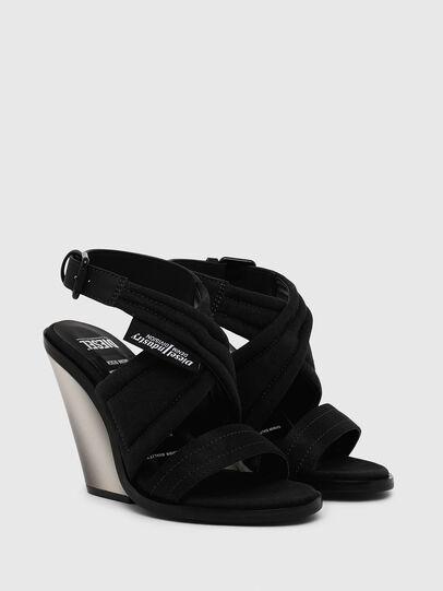 Diesel - SA-FLAMINGO XR, Black - Sandals - Image 2