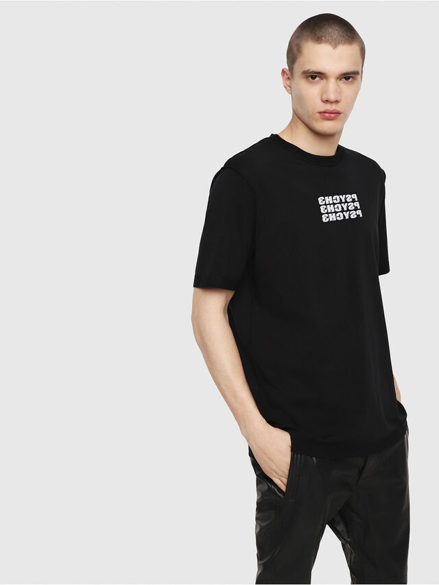 Diesel - T-JUST-Y9, Black - T-Shirts - Image 1