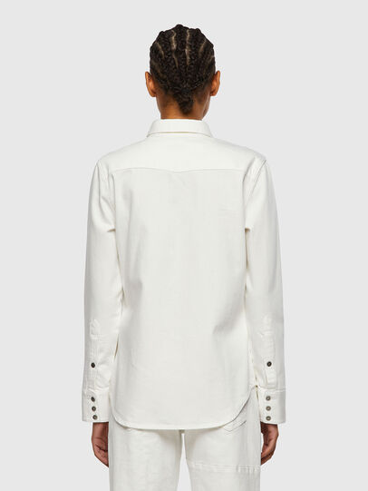 Diesel - DE-RINGY, White - Denim Shirts - Image 2