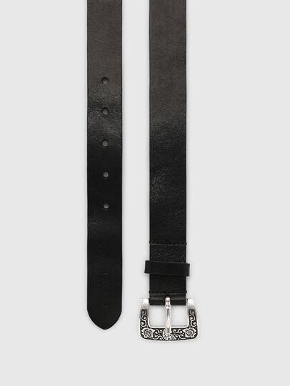 Diesel - B-MEXY, Black - Belts - Image 3