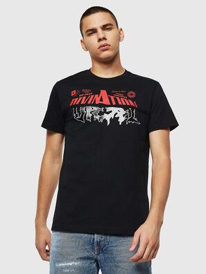 T-DIEGO-B12, Black - T-Shirts