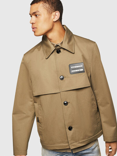 Diesel - J-KODORY, Military Green - Jackets - Image 4