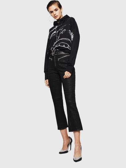 Diesel - F-MAG, Black - Sweaters - Image 6